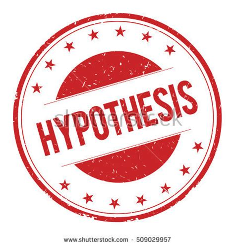 Sample Of Hypothesis In Thesis Writing Hypothesis: Forms